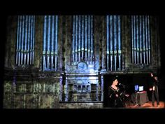 Controlling a 4-story pipe organ with the Kinect