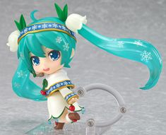 Nendoroid Snow Miku: Snow Bell Ver. (ねんどろいど ゆきみく すのー べる Ver.) Series Character Vocal Series 01: Hatsune Miku Manufacturer Good Smile Company Category Nendoroid Price ¥4,167 (Before Tax) Release Date 2015/02