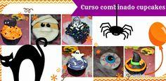 CURSO CUPCAKES MADRID  #cupcake #curso #cupcakes #halloween #madrid #españa #tienda #dulce #sweet Cupcakes, Halloween, How To Make Cake, Madrid, Baking, Sweet, Creative, Party, Tents