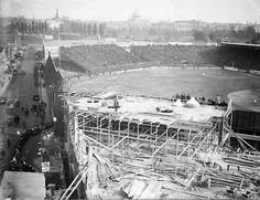 Fenway being built