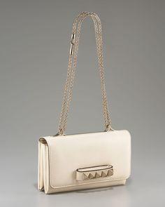 VALENTINO Va Va Voom Flap Bag (vanilla ivory) by www.giulialoves.com