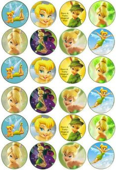 tinkerbell fairies cake toppers - Google Search