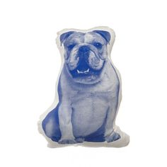 Mini English Bulldog Cobalt now featured on Fab by Areaware.