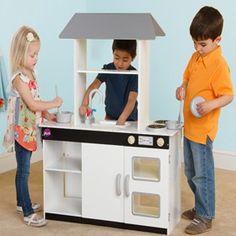 Nice Simple Kitchen Asda Wooden Play Kitchen, Play Kitchen Sets, Play  Kitchens, Kitchen