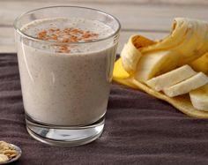 Vitamina de Aveia com Banana, Chia e Amêndoas