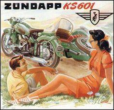 Zündapp Motorcycle Advertisement