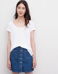 LOOSE FIT WHITE T-SHIRT