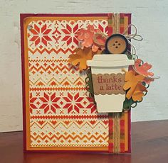 Vanessa's Paper Creations: thanks a latte
