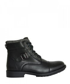 Ανδρικά αρβυλάκια μαύρα με κορδόνια EL0571 #ανδρικάμποτάκια #μοδάτα #ρούχα #παπούτσια #στυλ #φθηνά #μοντέρνα Biker, Boots, Fashion, Crotch Boots, Moda, Fashion Styles, Shoe Boot, Fashion Illustrations
