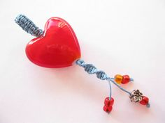 Pattern and tutorial for beginners easy macrame heart pendant