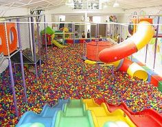 I Love The Ball Pit . I Used To Pretend It Was A Pool ..