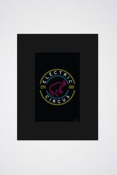 Electric Circus Art Print - Main and Local