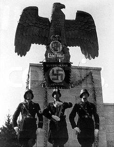 SS with Adolf Hitler Standard