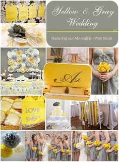 This is the inspirational board for Maureen and Doug that chose Tulum, Mexico for their desitnation wedding. They are shooting for an earthy gray and yellow wedding inspiration
