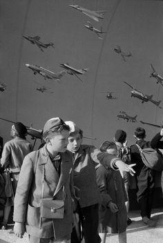 Henri Cartier-Bresson. World's Fair, Brussels, Belgium 1958.