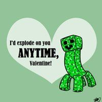 Max is wanting Enderman Valentines (Minecraft) so I google searched them and this comes up. LOL! Inappropriate Valentine is a go!
