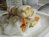 Steamed Rice Roll with Chinese Donut (Good Eats Seafood Restaurant - Richmond, BC)