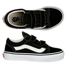 Vans Old Skool Velcro Shoes...Jackson loves these!