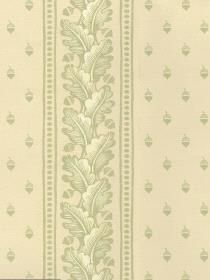Wallpaper BAILEY FERN pattern 8777E0710. Keywords describing this pattern are Stroheim, designer, stock, leaves, acorns, dots.  Colors in this pattern are Tan, Yellow.  Product Details:  strippable  washable  Material is Non-Woven. Product Information:  Book name: Stroheim Closeouts Pattern name: BAILEY FERN Pattern #: 8777E0710 Repeat Length: 6 3/10 inches.  Pattern Length: 13 1/2 inches.  Pattern Length: 27 0 inches.