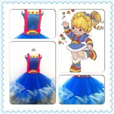 Tutti Bambini Kids costume peek. Rainbow Brite! Love! ❤