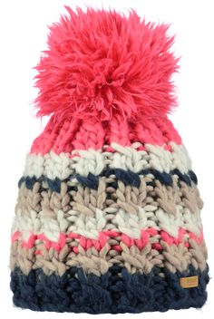 The Barts Feather beanie features super thick yarn and a mega pom. What feels more like winter?