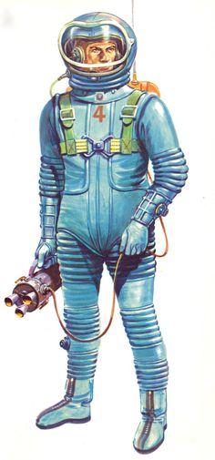 """mudwerks: """"L'Espace - Encyclopédie en couleurs (Éditions Hachette-1962) Illustrateur: Giannini """""""