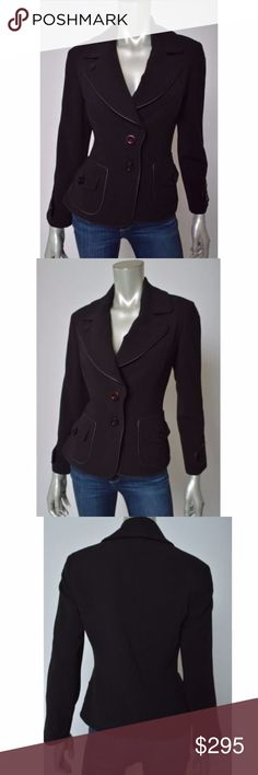 Agnona Neiman Marcus Brown Stretch Jacket Blazer Agnona Neiman Marcus Made in Italy Brown Stretch Women's Blazer Jacket size 40 Total length is 23 inches. Bust is 38 inches, unstretched.  Rayon Blend. Fully Lined. Agnona Jackets & Coats Blazers