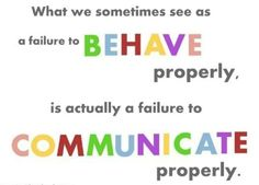 YES!!!  Every behavior is a communication!