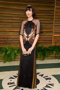 Singer Karen O attends the 2014 Vanity Fair Oscar Party hosted by Graydon Carter on March 2, 2014 in West Hollywood, California.