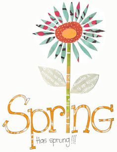 Happy first day of Spring!!