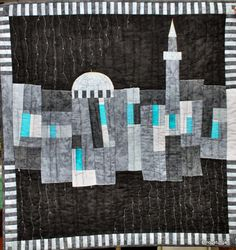 skyline quilt sillhoette | Thursday, 11 July 2013
