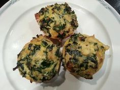 Kale and Quinoa Quiche Muffins [Healthy, Snacks, Portable, Whole grain, Wheat-free, Gluten-free, Vegetarian, Savory, Breakfast, Green, Vegetables, Cream cheese] *