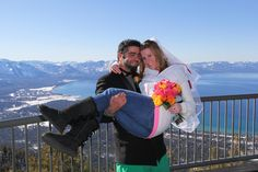 Your adventure starts with a scenic ride up the gondola to the midway station at a 9,123 foot elevation for pre-shots of the two of you with this beautiful summit backdrop. Venturing further up the gondola, your ceremony will be performed at the top of the mountain at a location reserved just for you.