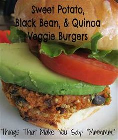 quinoa / black bean / sweet potato veggie burg. Um, this was delicious. Not firm but fantastic flavor