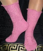 Носочки загадка на Равелри (TTL Mystery Sock 2014) дизайнера Kirsten Kapur