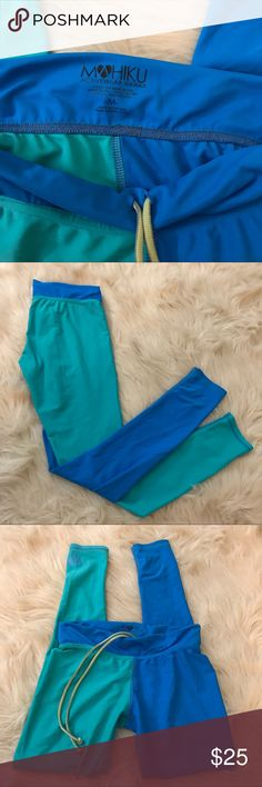 🚨 Hawaii blue/ turquoise active swim leggings🚨 Wear them for water sports, running, yoga, you name it! They are awesome quality and so bright you are sure to turn heads! 80% nylon 20% spandex - Only worn a few times. Last picture is from the website for a representation. Lululemon only for exposure! ✨BNWT!✨   🛍 2+ BUNDLE = SAVE!  🚨= CLEARANCE!   ‼️= PRICE FIRM!   💯BRAND AUTHENTIC   ✈️ SAME DAY SHIPPING -- purchase by 2pm   🤷🏼♀️ MAKE ME AN OFFER, YAH NEVER KNOW!   ❓ Questions? Just…