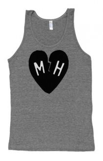 Heart Tank Top T-Shirt - Mayer Hawthorne T-Shirts - Online Store on District Lines