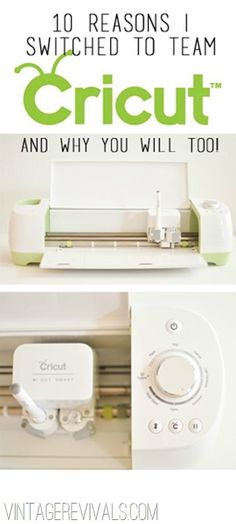 Meet The Cricut Explore: 10 Reasons I Switched To Team Cricut - Vintage Revivals