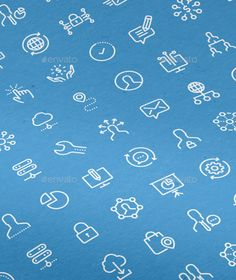 100 Business Line Icons — Transparent PNG #Business Vectors #line icons • Available here → https://graphicriver.net/item/100-business-line-icons/13453368?ref=pxcr