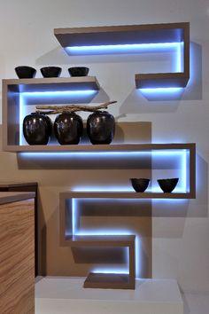 Regalbeleuchtung - realisiert durch die IMMER AG Lux-Manufaktur Led, Flat Screen, Design, Blood Plasma, Flatscreen, Dish Display