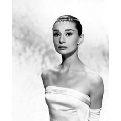 Audrey Hepburn ❤ liked on Polyvore featuring audrey hepburn and vintage