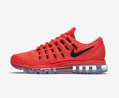 huge selection of 5f67a d0d93 Shop Air Max 2016 Nike Men Running Shoes Orange Black Cheap To Buy black,  grey, ...