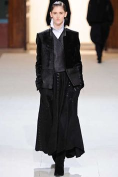 Priest-Inspired Runways : Damir Doma Fall 2012