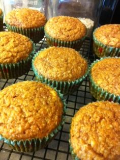 Pumpkin Qunioa Muffins-another healthy breakfast idea - I found the recipe easily, not like many of the others. #healthy breakfast  #muffins