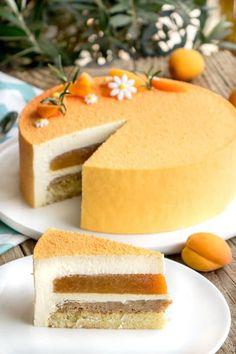 La recette de l'entremets abricot et romarin