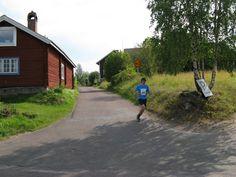 Half marathon in Tällberg in the village Östanhol...