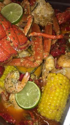 Yummy for our Tummies! Not only are our hearts united 💖 but so are our taste-buds! (˘◡˘) Love eating with you Boo! Seafood Boil Recipes, Seafood Dishes, Cajun Seafood Boil, Seafood Boil Party, Lobster Boil, Crab Boil, I Love Food, Good Food, Yummy Food