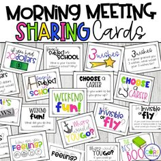 Why is Morning Meeting Magical? Morning meeting is an engaging way to start each day and an easy way to build a strong classroom community. Teachers and students sit in a circle for an organized start-of-day activity. A morning m… First Grade Classroom, Classroom Behavior, Kindergarten Classroom, Classroom Activities, Future Classroom, Classroom Management, Behavior Management, Morning Message Kindergarten, Classroom Meeting