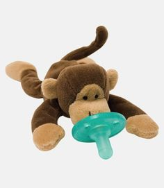 monkey pacifier toy  http://rstyle.me/n/tntvapdpe