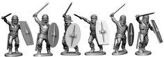 Gauls in Roman helmets